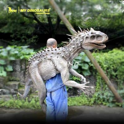 movie prop dinosaur puppet 1