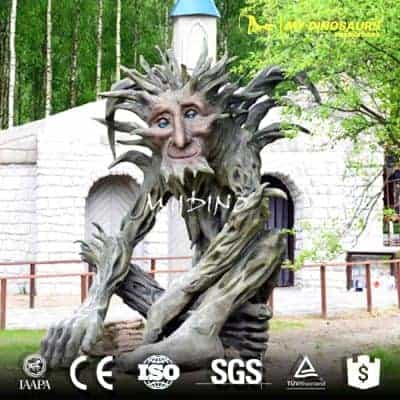 amusment park talking tree AP 020