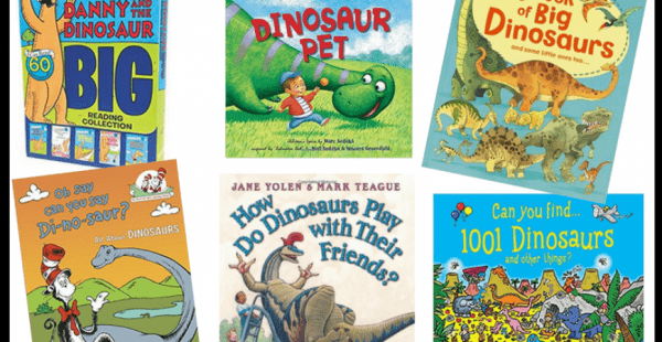 best dinosaur books baby toddler kid 870x450