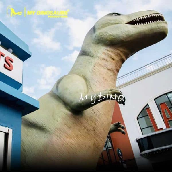 dinosaur statue props 1