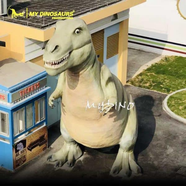 dinosaur statue props 2