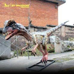 animatronic Dilophosaurus 2
