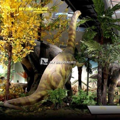 realistic plateosaurus