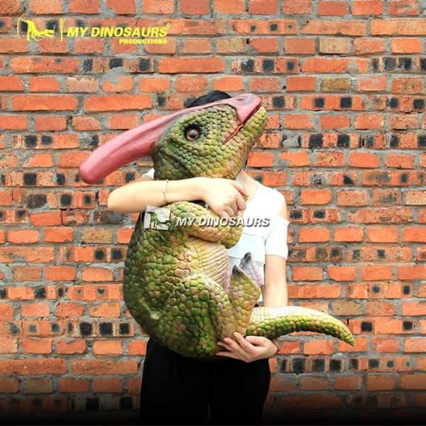 Parasaurolophus puppet