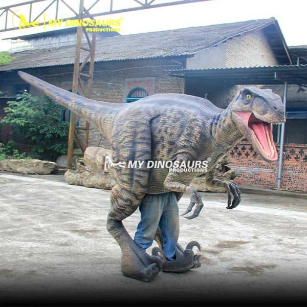 realistic dinosaur costume raptor 1