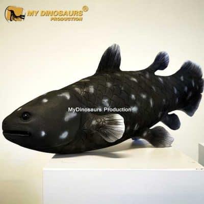 Coelacanthiformes statue 1