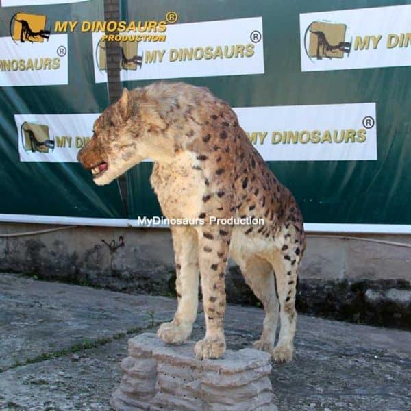 Dinocrocuta statue 3