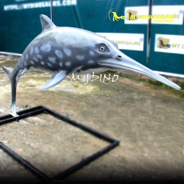 Fiberglass ichthyosaur 1
