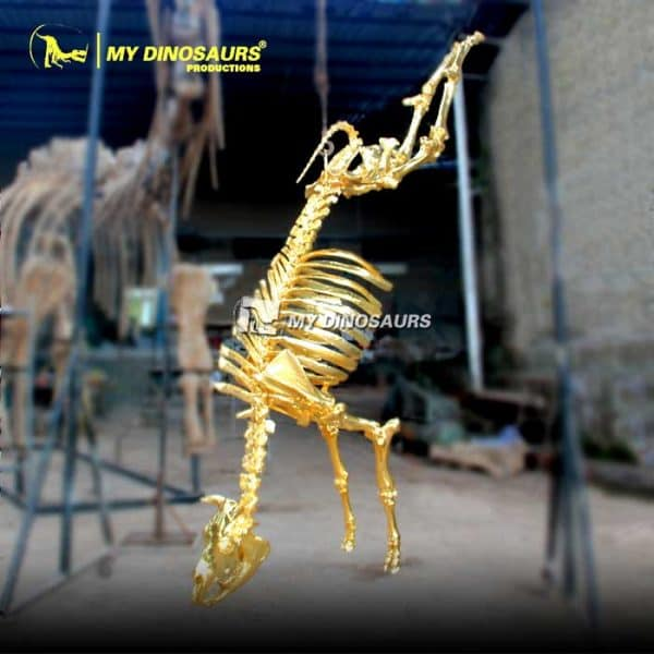 Gilded animal skeleton 1