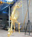 Gold Cow Skeleton 1