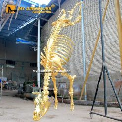 Gold Cow Skeleton 1