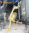 Gold Cow Skeleton