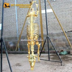 Gold Cow Skeleton 2