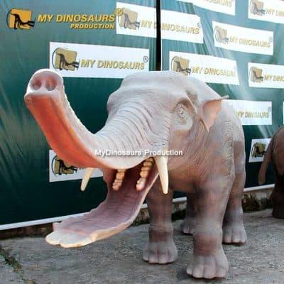 animatronic Platybelodon 1