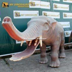 animatronic Platybelodon
