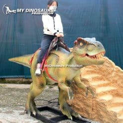 Amusement dinosaur ride 1