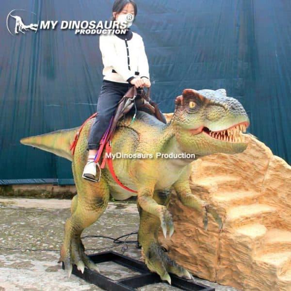 Amusement dinosaur ride 1