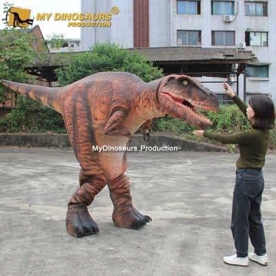 Halloween dinosaur suit 2