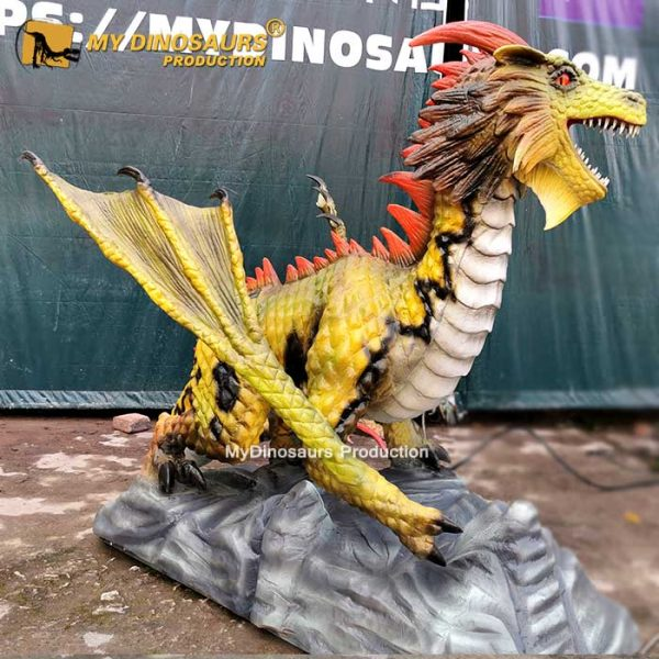animatronic flying dragon