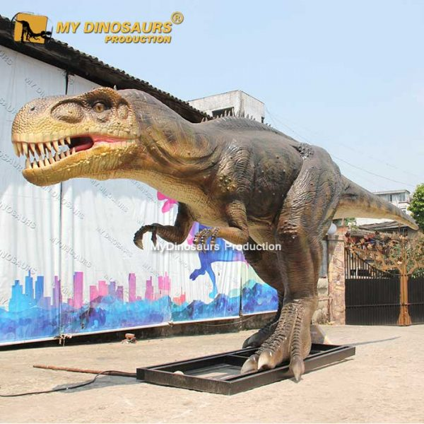 animatronic megalosaurus