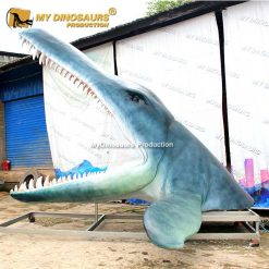 kronosaurus head