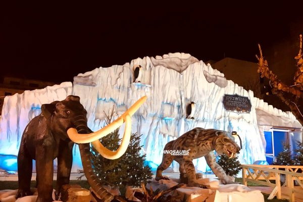 artificial ice age animal exhibition 2