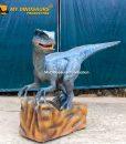 Velociraptor blue