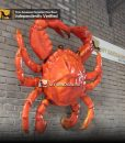 animatronic crab