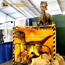 Life size raptor for sale 3