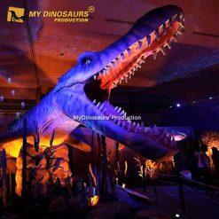 Animatronic Mosasaurus