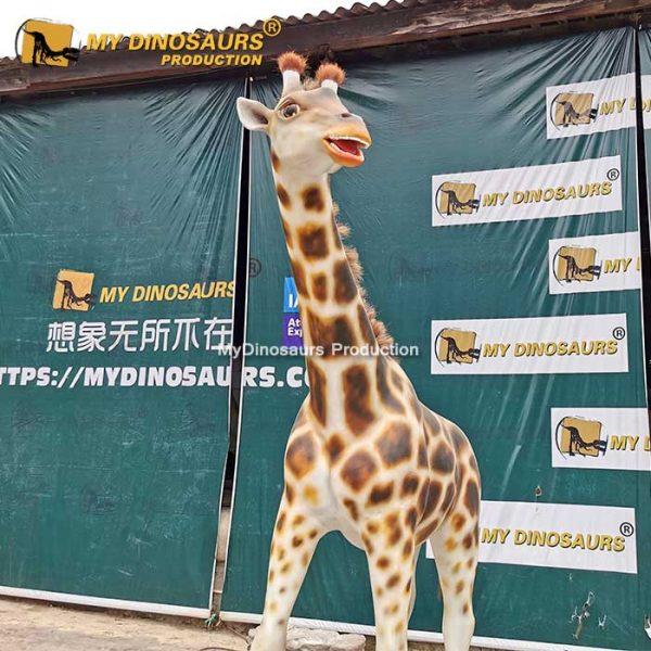 animatronic giraffe