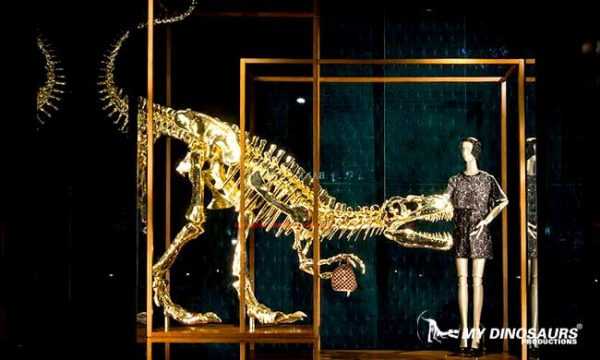 mydinosaurs gold skeleton