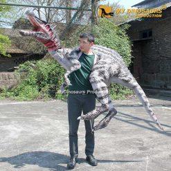 Spinosaurus shoulder puppet