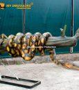 Animatronic snake on the tree 2