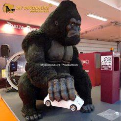 Gorilla statue 3