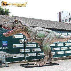 T Rex dinosaur statue