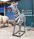 animatronic zebra 2