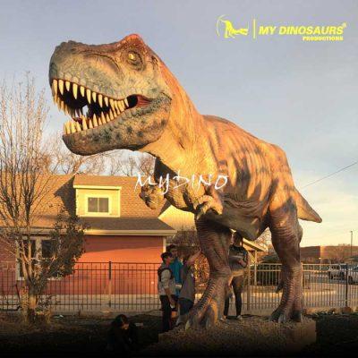 fiberglass T rex 1
