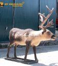 Animatronic Reindeer