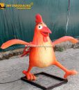 Animatronic chicken 2