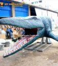 animatronic mosasaur 1