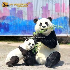 Realistic Panda Replica
