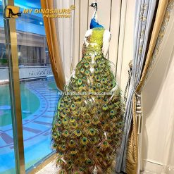realistic peacock 1