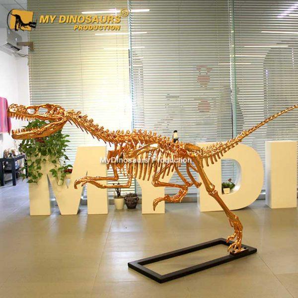 rose gold raptor skeleton 1