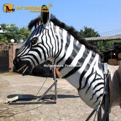 Animatronic Zebra Head