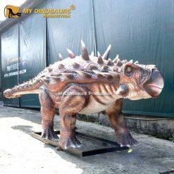 Ankylosaur statue