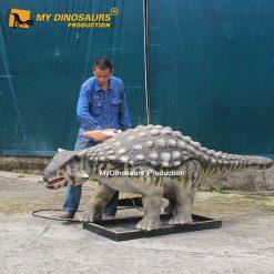 robotic dinosaur ankylosaurus
