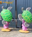turtle statue 3