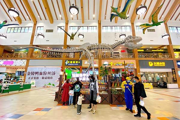 Dinosaur themed service area 2