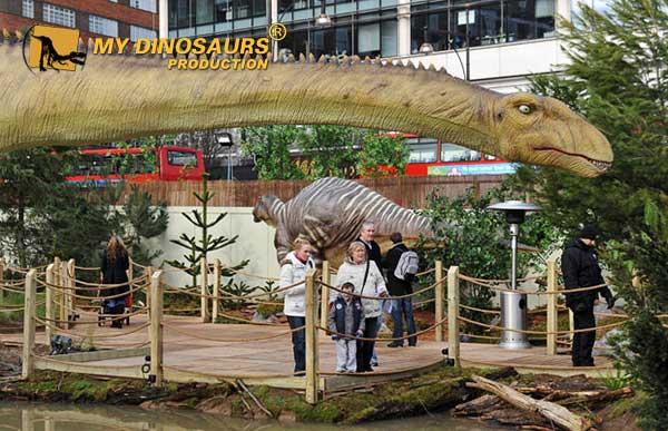 animatronic dinosaur Oxford Street